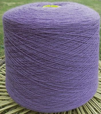 Knitting Machine Yarn 2/30 1.5 Kilos Wool / Acrylic Mix Lavender -  IND23.01