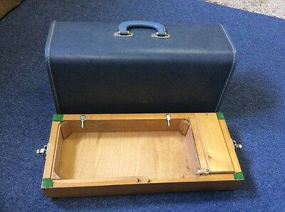 Vintage Sewing Machine Carry Case/box With Base For Brother Etc