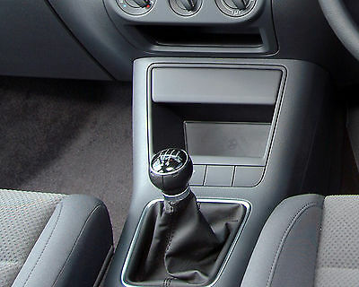 Leather Gear Shift Gaiter Cover Sleeve fit VW GOLF V PLUS