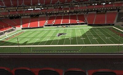 Mercedes Benz 2017 Atlanta Falcons vs Dallas Cowboys -2 Club Tickets +Parking