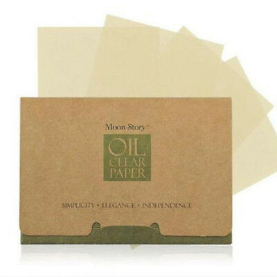Sommer Oil Blotting and Absorbing Öl Absorbierende 100 Sheets Sauber 30g / box