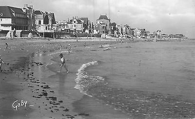 14 St-Aubin-Sur-Mer Plage Carte Photo