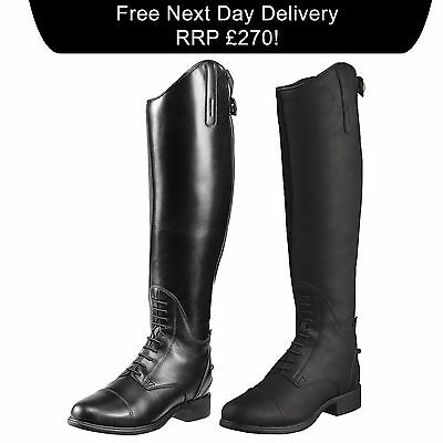 Ariat Bromont Tall H2O Insulated Long Leather Riding Boots BNWT SALE RRP £275