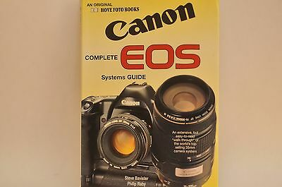 Hove Foto Books Canon EOS complete system EOS 1RS A2 RT 10s Elan EF lenses more