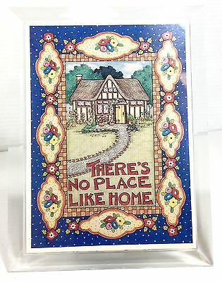 Mary Engelbreit THERE'S NO PLACE LIKE HOME Musical Moments 5x7 Acrylic Frame
