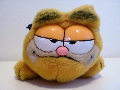 "Vintage Classic Garfield Mini Plush Soft Toy Cat Doll 1980s 6"" Long"