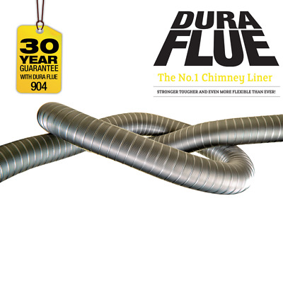 "Dura Flue Flexible Flue Liner 904 6"" (150mm)"