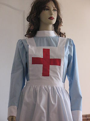WW1/WW2   'British Red Cross' Military style Nurse's Apron