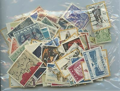 GREECE--Accumulation of 414 stamps