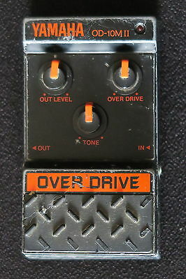 Yamaha Od10 Mkii Overdrive Made In Japan An Awesome Sounding Pedal Vg-Cond & Gwo