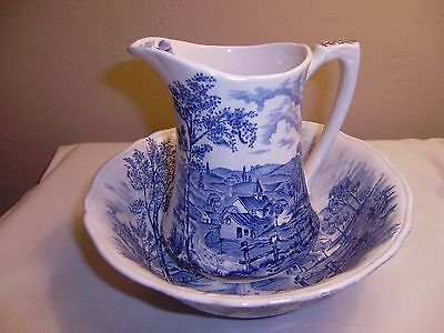 ALFRED MEAKIN  Reverie Bowl and Pitcher   MINT