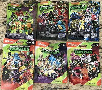 Mega Tmnt Teenage Mutant Ninja Turtles Series 4 / Series 3 / Series 2 / Series 1
