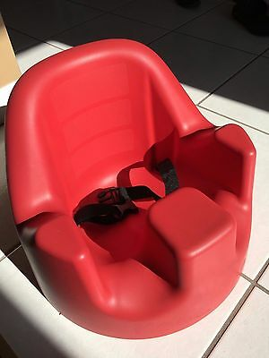 Mega Seat by Gum Drops - Child Seat - Lightly Used - Super Condition!  Red