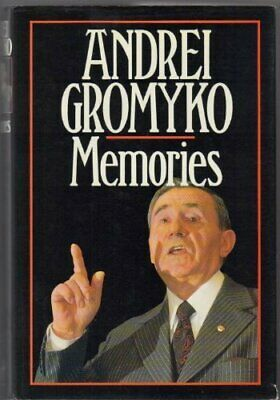 Andrei Gromyko. Memories by Gromyko, A.A. Hardback Book The Cheap Fast Free Post