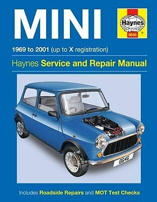Haynes Mini 1969 to 2001 Up to X Registration Service and Repair Manual (John S.