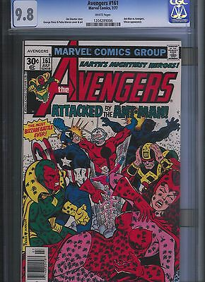 Avengers # 161 CGC 9.8  White Pages. UnRestored.