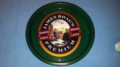 James Boags Premium Metal Serving And Beer Drinks Tray