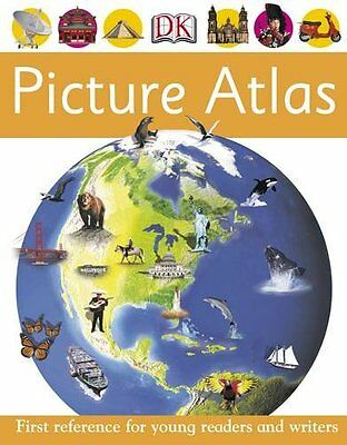 Picture Atlas (First Reference), Oxlade, Chris Hardback Book The Cheap Fast Free