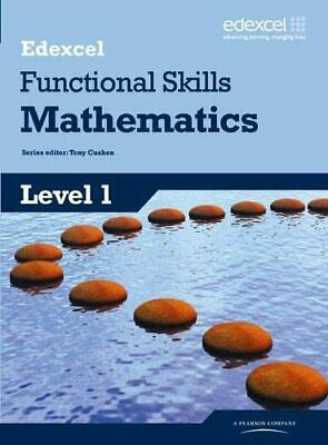 Edexcel Functional Skills Mathematics Level 1 Student Book (Edexcel... Paperback