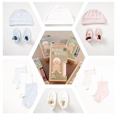 2 for 1 Deal!!! Boody Organic Bamboo 3piece Sock Set Blue 12-24 months