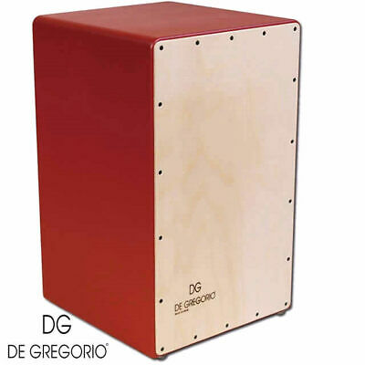 De Gregorio Compass Cajon Birch front with Red sides