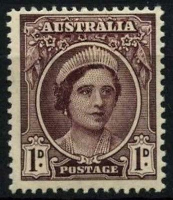 Australia 1942-50 SG#203, 1d Brown-Purple QEII MH #D48810