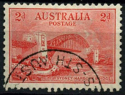 Australia 1932 SG#144, 2d Sydney Harbour Bridge With Wmk Used #D48695