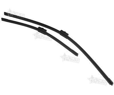 2Pcs Flat Aero Wiper Blades Front Windscreen  For Ford Focus MK2  2004-2012