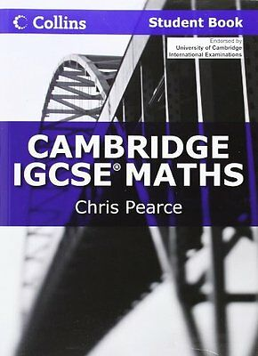 Cambridge IGCSE Maths Student Book (Collins Cambridg..., Pearce, Chris Paperback