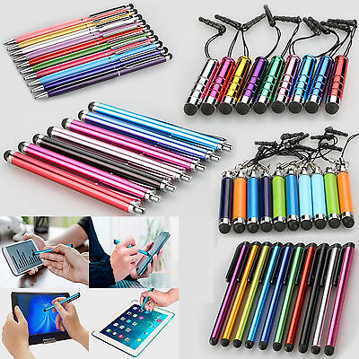 Universal Aluminium Extendable Mini Stylus Ball Points For iPhone 6 7 Galaxy 8.0