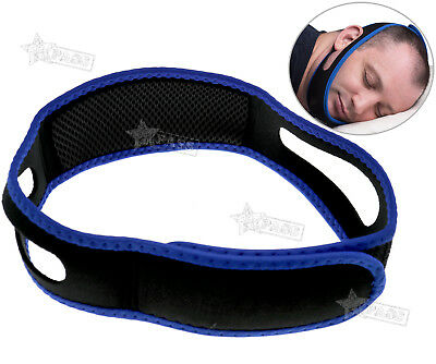 Authentic Stop Snoring Solutions Anti Snore Jaw Strap Sleep Support Chin Belt