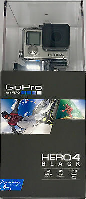 GoPro HERO4 Black Edition Camcorder - Silver INCLUDES FREE 64GB SD CARD
