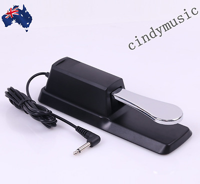 SUSTAIN PEDAL Compatible With All Electronic Keyboards NEW
