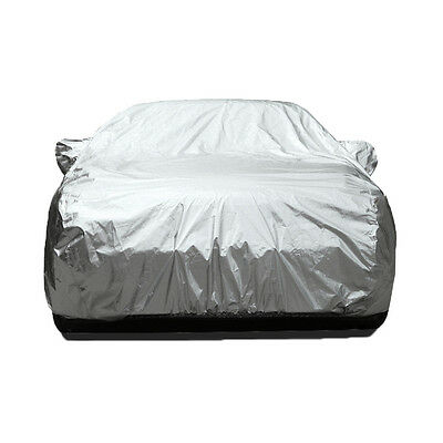 3 Layers Double Thicker Waterproof Car Cover Rain Resistant Anti Dust Protection