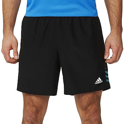 "adidas Performance Mens Response 7"" climalite Sports Running Gym Training Shorts"