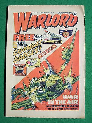 'Warlord' comic, no. 121, January 15th 1977 (good condition)