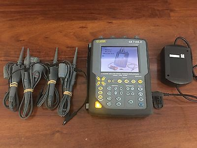 AEMC OX 7104-C 2124.50 Oscilloscope Scope 100MHz 4 Ch Touch Screen Probe Charger