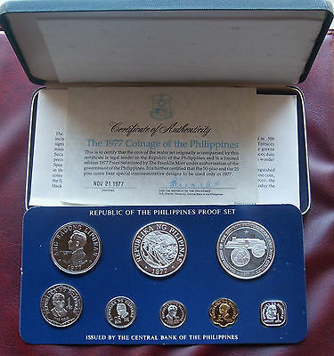 Philippies 1977 proof set