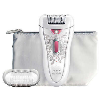 Philips HP6574/50 Cordless Hair Removal Always Satin Perfect Epilator White/Pink