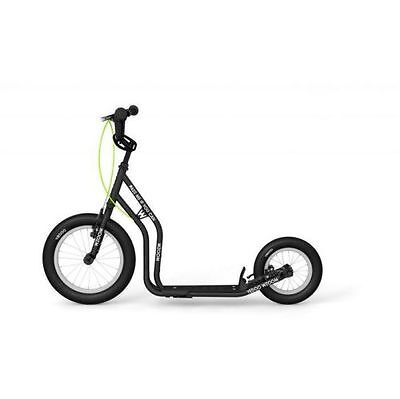 YEDOO Roller New Wzoom 16/12 schwarz Tretroller Scooter Dogscooter