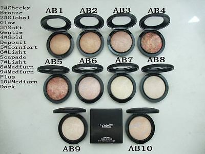 100% authentic MAC COSMETICS highlitghter ILLUMINANTE VISO mineralize skinfinish