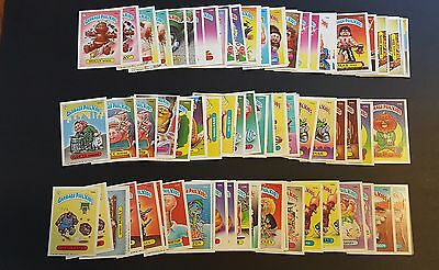 1986 Garbage Pail Kids Original Series 4 Sets A & B  VNG 150