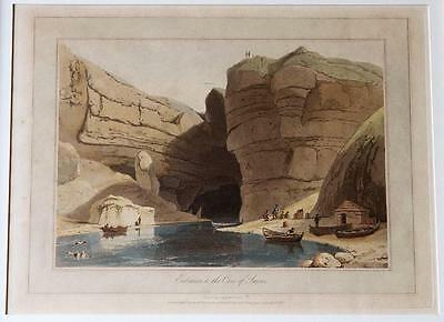 William Daniell – Entrance to Cave of Smowe (Smoo Cave) – Highlands Scotland