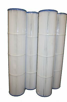 4 Pack Filters Replace PCC130 Cartridge Pentair Clean & Clear 520 R173578 C-7472