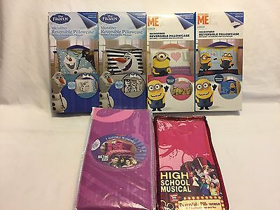 Kids Room Pillow Case - You Choose - Disney Nickelodeon Universal Despicable ME