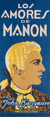 When a Man Loves 1923 Argentine Poster