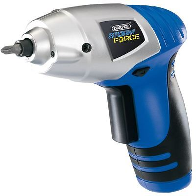 Draper Storm Force® Cordless 3.6v Li-Ion Screwdriver Kit 14603