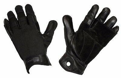Military Yates 925 TACTICAL RAPPEL FAST ROPE GLOVES SIZE XL BLACK