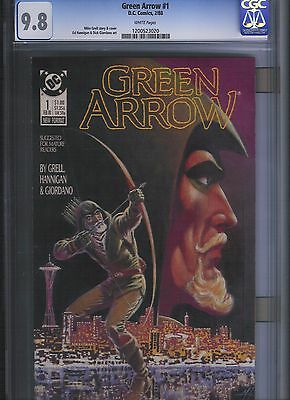 Green Arrow # 1 CGC 9.8  White Pages. UnRestored.