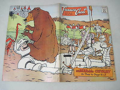 Treasure Chest Vol.17 #18 May 10, 1962 Chivalry Wrap-Around Cover Lou Gehrig